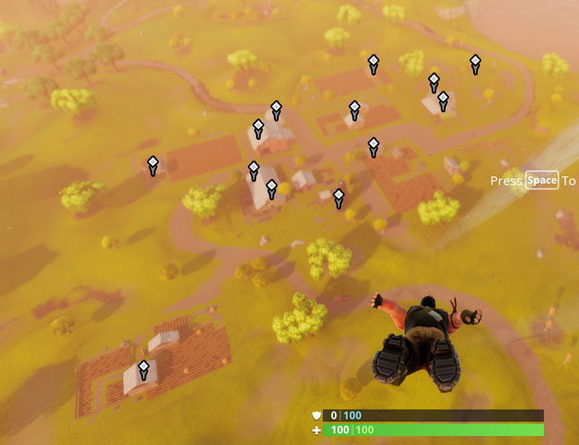 Fortnite Battle Royale All Loot Chests Locations for Anarchy Acres