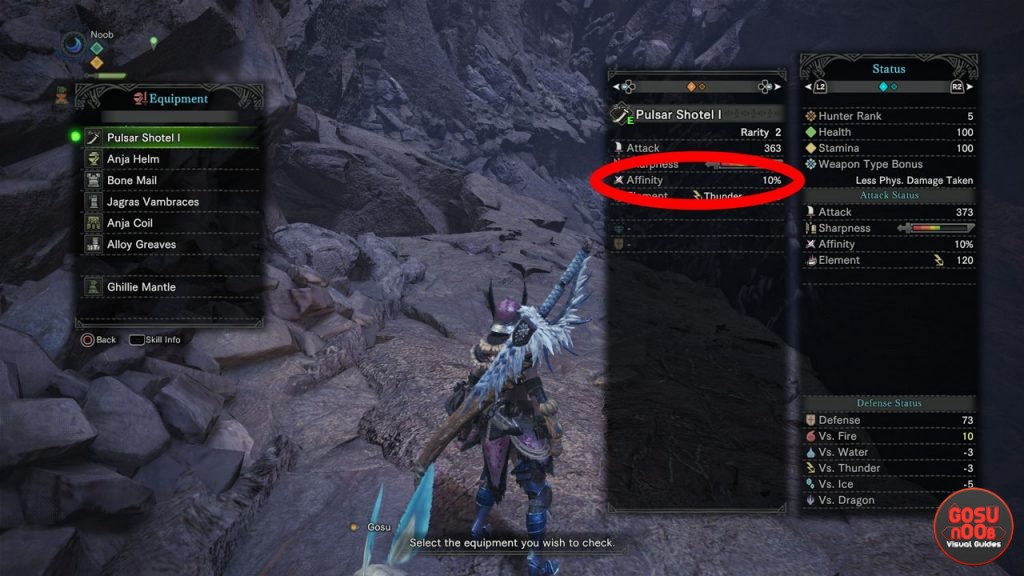 Monster Hunter World - What is Weapon Affinity and How it Works