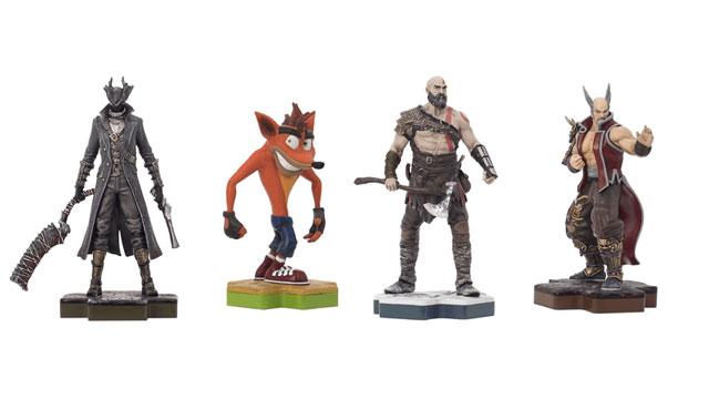 PlayStation Launching Series of Amiibo-Like Character Figurines