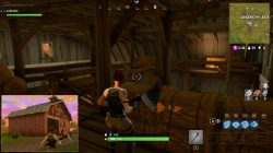 Red Barn Fortnite Battle Royale Loot Chest in Anarchy Acres