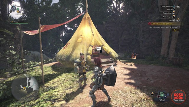 monster hunter world camp locations fast travel points