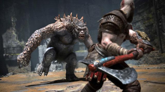 God of War Halftime Event War on the Floor Behind-The-Scenes