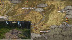 Kingdom Come Deliverance Ancient Map 1 Location
