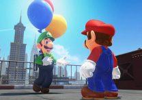 Super Mario Odyssey Free DLC Adds Luigi's Balloon World Minigame