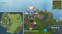 fortnite br where to find crab challenge