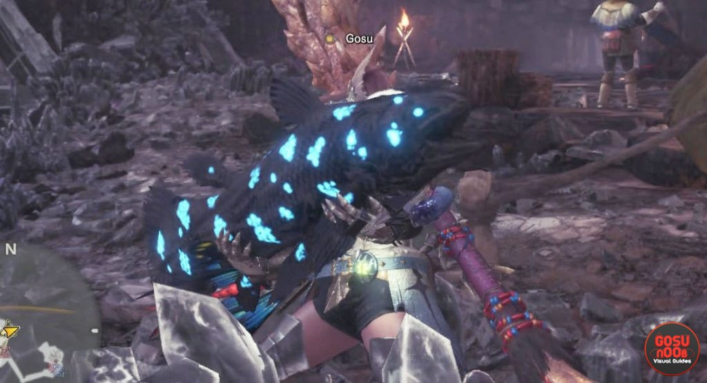 monster hunter world capture the ancient fish quest