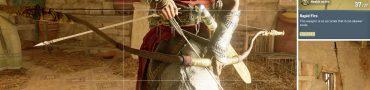 AC Origins Lights Among the Dunes Spirit Catcher Legendary Light Bow Weapon