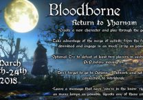 Bloodborne Return to Yharnam Community Event Announced