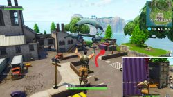 Fortnite Flush Factory Grey Container Chest Location