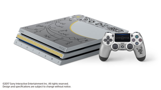 God of War Limited Edition PS4 Pro Bundle Revealed