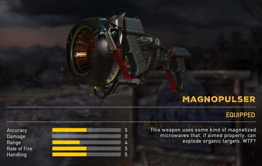 Magnopulser Special Weapon Far Cry 5