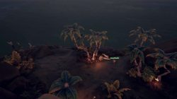 Monstrous Fangs Beneath the South East Palms Sea of Thieves
