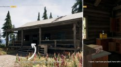 Red Tail Cabin Vinyl Crate Location Far Cry 5