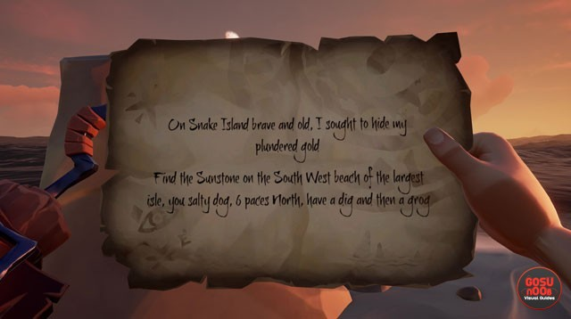 Sea of Thieves Snake Island Riddle Solution & Location