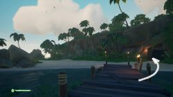Sea of Thieves Where to find The Cavern Campfire Crook's Hollow