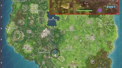 Search between a Metal Bridge, Three Billboards, and a Crashed Bus Fortnite BR Week 6 Challenge