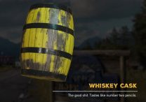 Whiskey Barrel Cask Far Cry 5