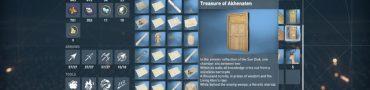 ac origins treasure of akhenaten location puzzle solution