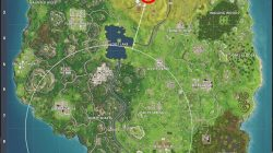 anarchy acres treasure map location fortnite br weekly challenge