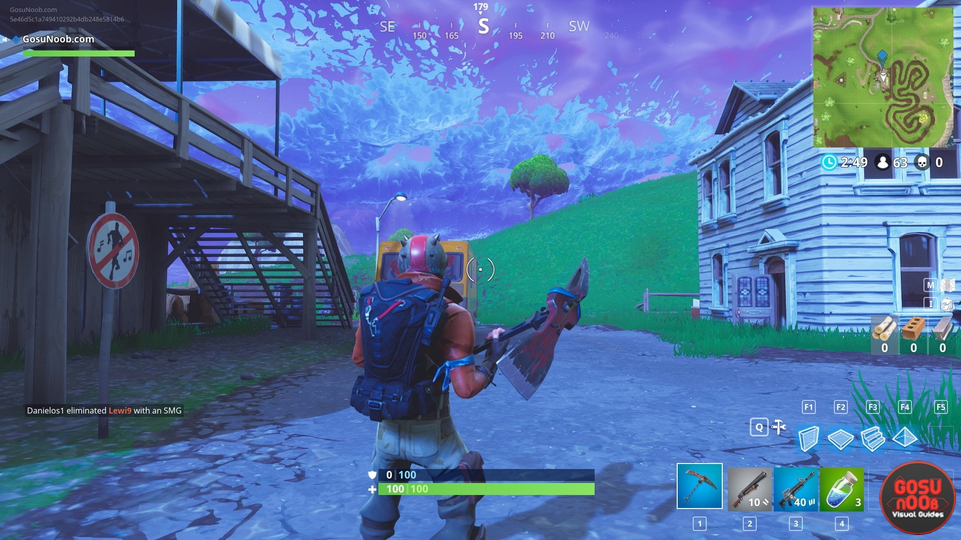 - places to dance in fortnite