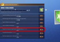fortnite br follow the treasure map found in snobby shores