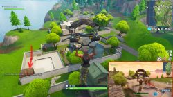 fortnite br snobby shores treasure location