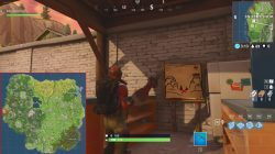 fortnite br snobby shores treasure map
