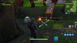 fortnite br wailing woods chest tent