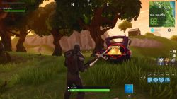 fortnite br wailing woods chest truck