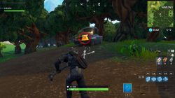 fortnite wailing woods chests blue truck