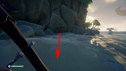 sea of thieves devils ridge riddle treasure chest location