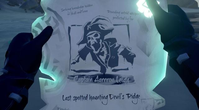 sea of thieves devil's ridge skeleton captain location bug