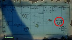 where to find devils ridge island location sea of thieves