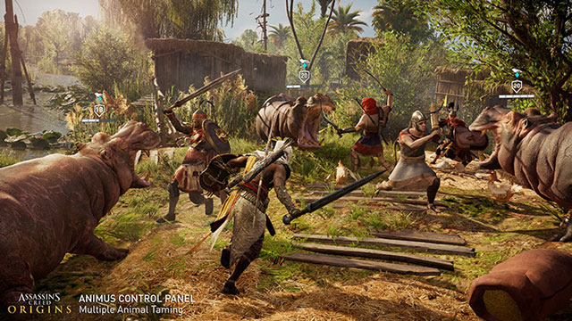 Assassin's Creed Origins Getting Animus Control Panel on PC