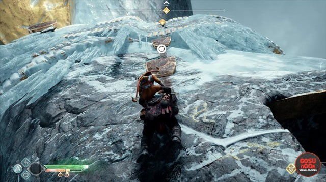 God of War Magic Chisel Journey Quest - How to Reach Hammer