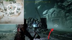 God of War The Mountain 2018 Hidden Chamber Location Valkyrie Spot