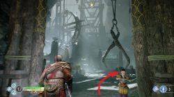 God of War the Mountain Hidden Chamber Location Valkyrie Spot
