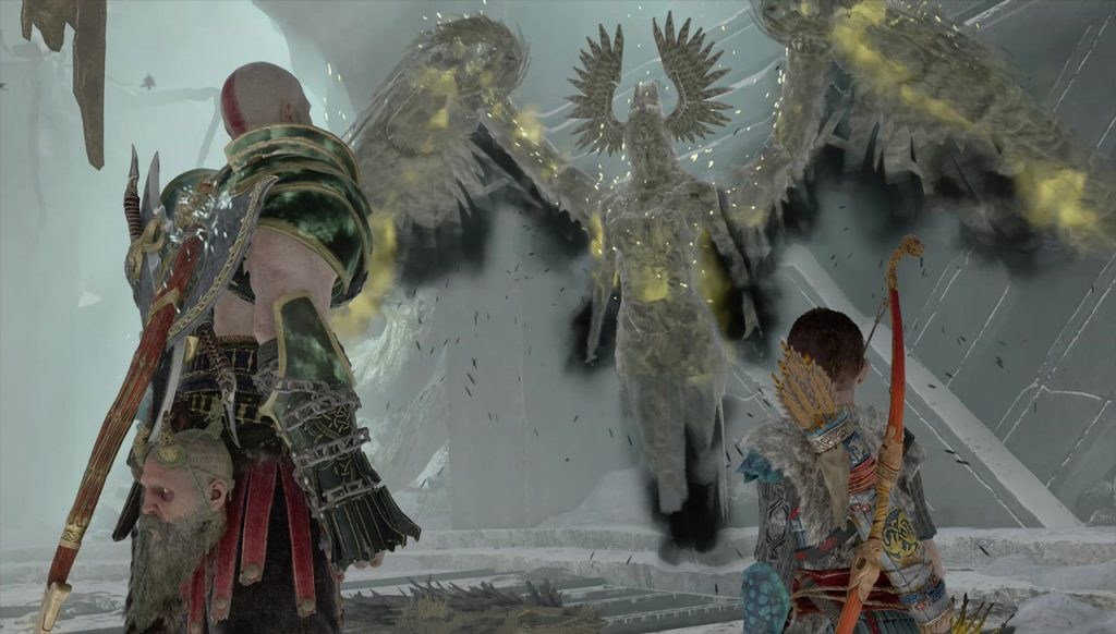 God of War Valkyrie Defeated