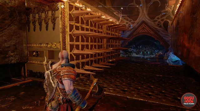 Tyr's Vault Nornir Rune Chest puzzle solution in God of War