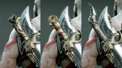 God of War Best Axe & Blades Pommels - Mistbourne, Grips of