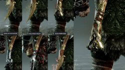 best leviathan axe pommels god of war