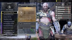 best niflheim armor god of war gauntlets of endless mist