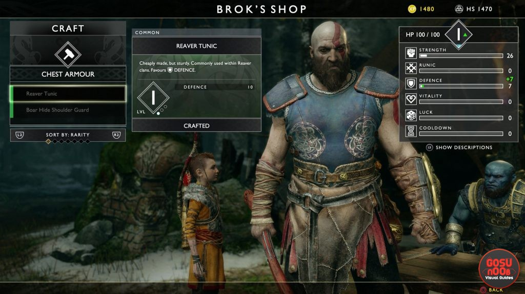 broks shop god of war 4 review