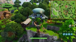 fortnite br lonely lodge chest camping ground