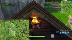 fortnite br lonely lodge chest weekly challenge