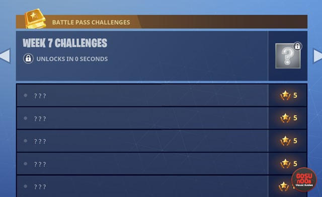 fortnite br week 7 challenges bug