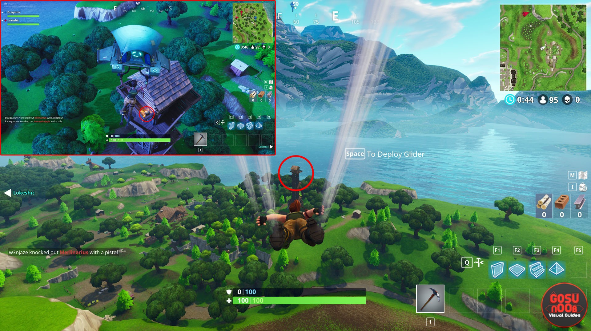 Fortnite Br Lonely Lodge Chest Locations