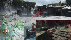 god of war buri's storerom treasure map