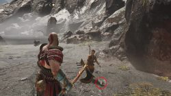 god of war creation island treasure map location