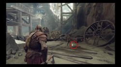 god of war dead and bloated parchment location